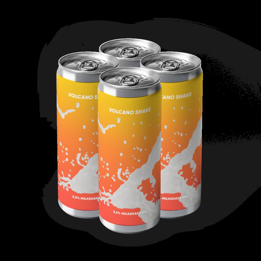 Volcano Shake 4 pack lattine rebel's